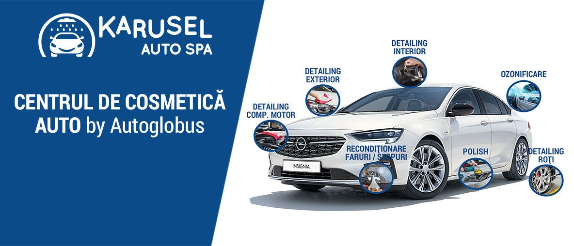 Karusel Auto Spa - Centrul de cosmetica auto by Autoglobus