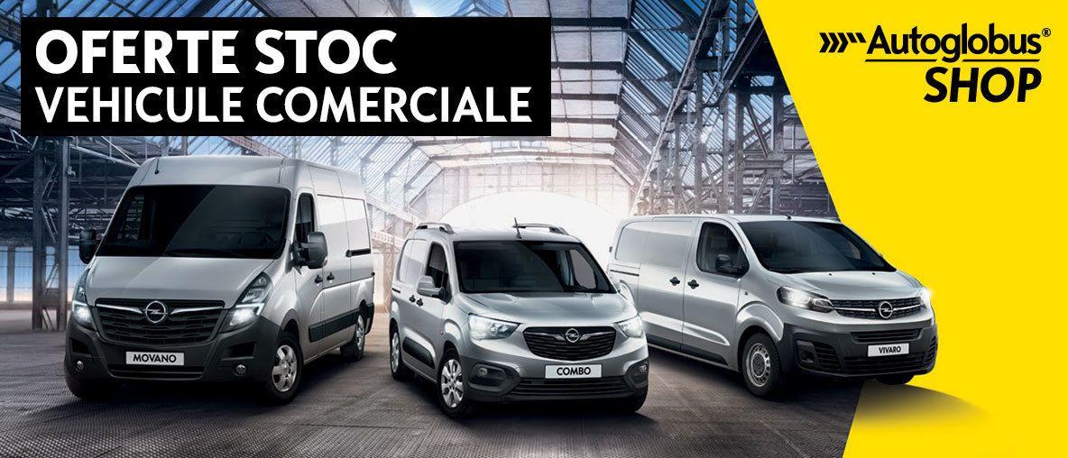 Oferte stoc vehicule comerciale Opel