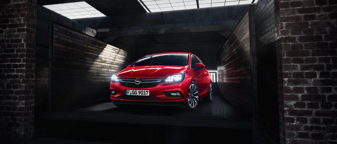Faruri Opel Astra