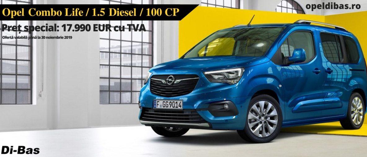 Opel Combo Life 1.5D 100CP MT5