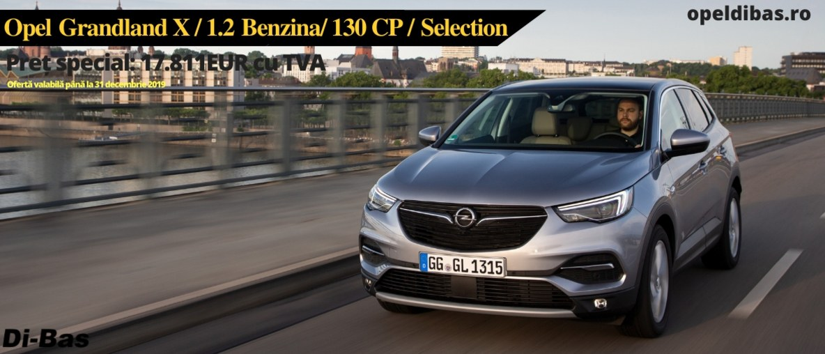 Opel Grandland X 1.2 130CP MT6 Selection