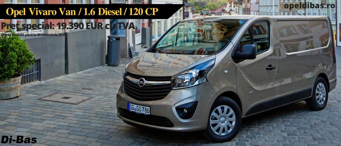 Opel Vivaro Van L2H1 1.6CDti 120CP MT6