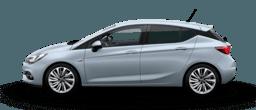 Opel Astra cu 5 uși