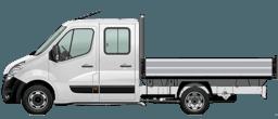 Opel Movano Crew Cab Dropside