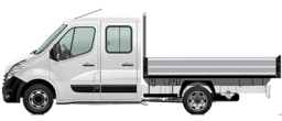 Opel Movano Chassis Cab Dropside