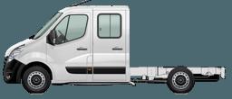 Opel Movano Crew Cab
