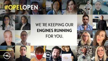 #OpelOpen - Dealerii și angajații Opel sunt în continuare disponibili pentru toți cei care au nevoie de mobilitate